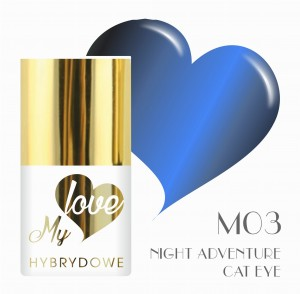 Lakier Hybrydowy MyLove UV/LED M03  Night Adventure