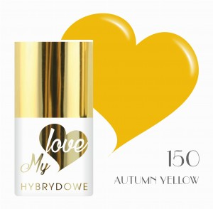 Lakier Hybrydowy MyLove UV/LED 150 Autumn Yellow
