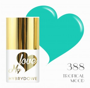 Lakier Hybrydowy MyLove UV/LED 388 Tropical Mood