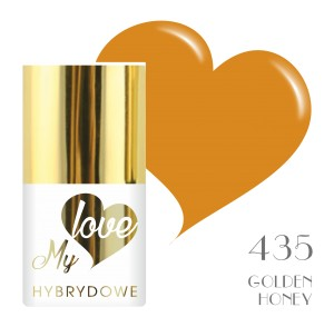 Lakier Hybrydowy MyLove UV/LED - 435 Golden honey
