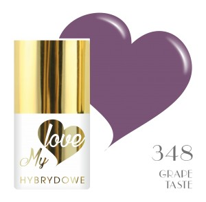 Lakier Hybrydowy MyLove UV/LED 348 Grape Taste