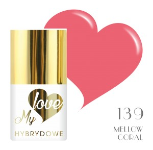 Lakier Hybrydowy MyLove UV/LED 139 Mellow Coral