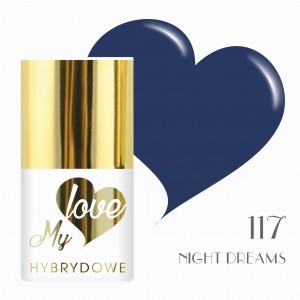 Lakier Hybrydowy MyLove UV/LED 117 Night Dreams