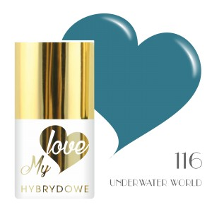 Lakier Hybrydowy MyLove UV/LED 116 Underwater World