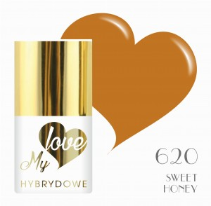 Lakier Hybrydowy MyLove UV/LED - 620 SWEET HONEY
