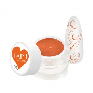 Paint Gel Kolor - 04 Orange