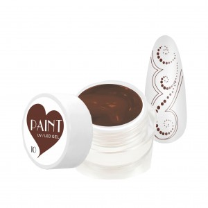 Paint Gel Kolor - 10 Brown