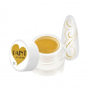 Paint Gel Kolor - 12 Gold