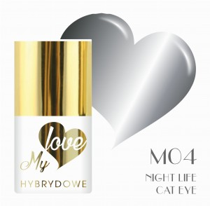 Lakier Hybrydowy MyLove UV/LED M04 Night Life