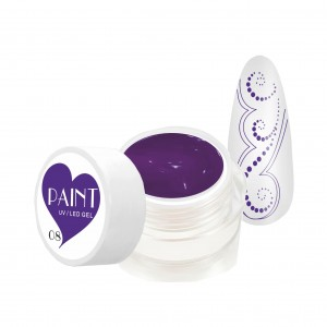 Paint Gel Kolor - 08 Purple