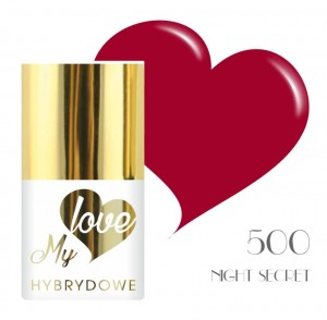 Lakier Hybrydowy MyLove UV/LED 500  Night Secret
